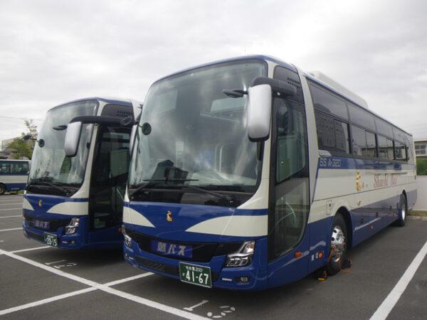 大型観光バス(関白号・春日局号)