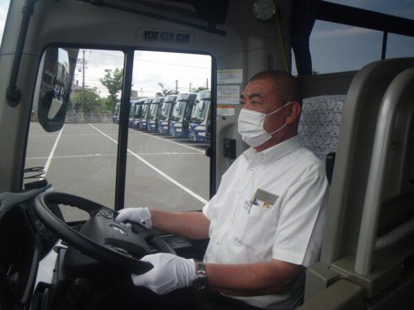 [乗務員]新型コロナウイルス対策(マスク着用)
